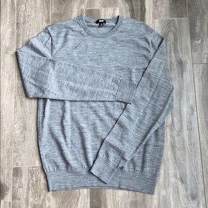 Men's Uniqlo thin wool sweater